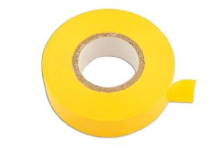 Connect 30382 Yellow PVC Insulation Tape 19mm x 20m Pk 10